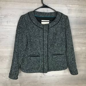 Banana Republic Womens Tweed Jacket Blazer